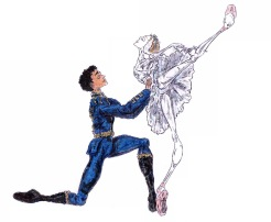 ODETTE AND SIGFRIED PAS DE DEUX, Act II: after Sarah Lamb and Carlos Acosta